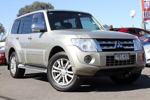 2013 Mitsubishi Pajero NW MY14 Exceed Gold 5 Speed Sports Automatic Wagon Liverpool Liverpool Area Preview
