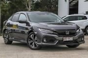 2017 Honda Civic 10th Gen MY17 VTI-LX Grey 1 Speed Constant Variable Hatchback Noosaville Noosa Area Preview