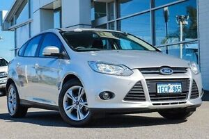 2013 Ford Focus LW MKII Trend PwrShift Silver 6 Speed Sports Automatic Dual Clutch Hatchback Bayswater Bayswater Area Preview