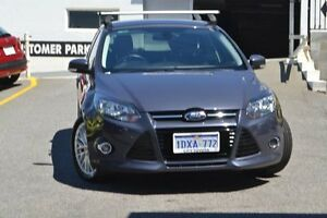 2012 Ford Focus LW Sport PwrShift Grey 6 Speed Sports Automatic Dual Clutch Hatchback Claremont Nedlands Area Preview
