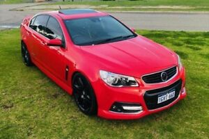 2013 Holden Commodore VF MY14 SS V Redline Red 6 Speed Manual Sedan Kenwick Gosnells Area Preview