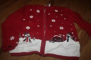 Girls Christmas Clothes and Pjs
