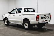 2011 Toyota Hilux GGN25R MY10 SR White 5 Speed Automatic Utility Welshpool Canning Area Preview
