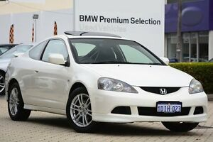 2005 Honda Integra DC MY2005 Luxury White 5 Speed Manual Coupe Victoria Park Victoria Park Area Preview