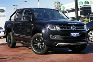 2016 Volkswagen Amarok 2H MY16 TDI420 4MOTION Perm Atacama Black 8 Speed Automatic Utility Osborne Park Stirling Area Preview