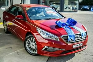 2015 Hyundai Sonata LF Elite Red 6 Speed Sports Automatic Sedan