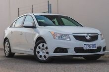 2012 Holden Cruze JH Series II MY13 CD White 6 Speed Sports Automatic Sedan Bellevue Swan Area Preview