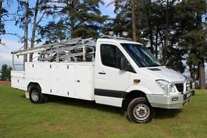2011 Mercedes-Benz Sprinter 906 MY11 519 CDI LWB (4x4) White 5 Speed Automatic Officer Cardinia Area Preview