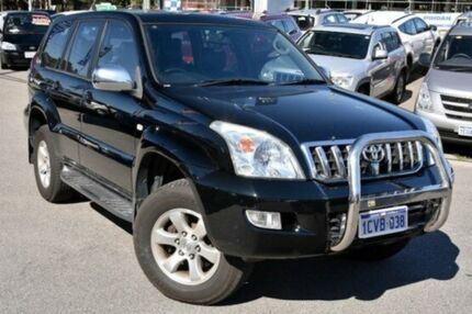 2005 Toyota Landcruiser Prado GRJ120R GXL Bk 5 Speed Automatic Wagon Myaree Melville Area Preview