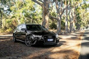 2016 Audi RS6 4G MY16 performance Avant Tiptronic quattro Black 8 Speed Sports Automatic Wagon Osborne Park Stirling Area Preview