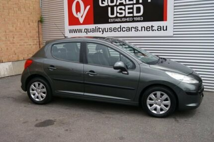 2007 Peugeot 207 XT Grey 5 Speed Manual Hatchback Blair Athol Port Adelaide Area Preview