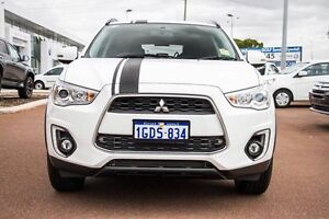 2016 Mitsubishi ASX XB MY15.5 LS 2WD White 6 Speed Constant Variable Wagon Wilson Canning Area Preview