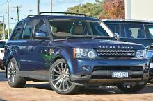 2012 Land Rover Range Rover Sport L320 13MY SDV6 CommandShift Luxury Baltic Blue 6 Speed Sports Auto Osborne Park Stirling Area Preview