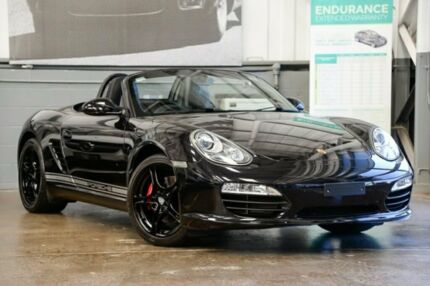 2011 Porsche Boxster 987 MY11 S PDK Black 7 Speed Sports Automatic Dual Clutch Convertible Albion Brisbane North East Preview