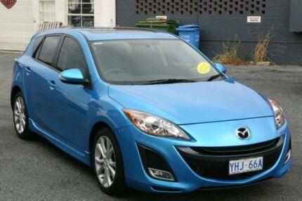 2010 Mazda 3 BL SP25 Blue 6 Speed Manual Hatchback Fyshwick South Canberra Preview