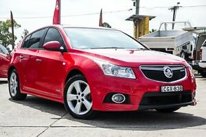 2012 Holden Cruze JH Series II MY12 SRi-V Red Hot 6 Speed Sports Automatic Hatchback Blacktown Blacktown Area Preview