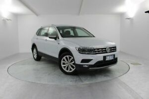 2018 Volkswagen Tiguan 5N MY18 132TSI Comfortline DSG 4MOTION Allspace White 7 Speed Launceston Launceston Area Preview