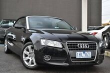 2011 Audi A5 8T MY11 Multitronic Black 8 Speed Constant Variable Cabriolet Burwood Whitehorse Area Preview