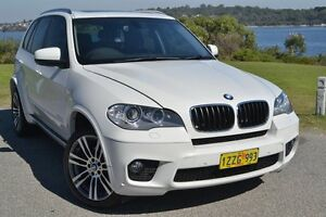 2013 BMW X5 E70 MY1112 xDrive30d Steptronic White 8 Speed Sports Automatic Wagon Claremont Nedlands Area Preview