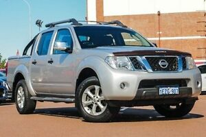 2011 Nissan Navara D40 MY11 ST-X 550 Silver 7 Speed Sports Automatic Utility Fremantle Fremantle Area Preview