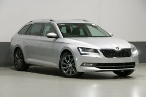 2018 Skoda Superb NP MY18 162 TSI Brilliant Silver 6 Speed Direct Shift Wagon Bentley Canning Area Preview