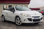 2011 Renault Megane III E95 Dynamique White 6 Speed Constant Variable Cabriolet Bayswater Bayswater Area Preview