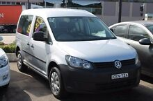 2012 Volkswagen Caddy 2K MY12 TDI250 Wagon Life SWB DSG Startline Silver 7 Speed Sports Automatic Du Brookvale Manly Area Preview