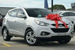 2013 Hyundai ix35 LM2 SE AWD Silver 6 Speed Sports Automatic Wagon Thornleigh Hornsby Area Preview