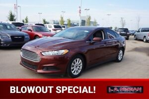 2016 Ford Fusion S AUTOMATIC Accident Free,  Bluetooth,  A/C,
