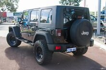 2008 Jeep Wrangler JK Unlimited Sport Black 4 Speed Automatic Softtop Cannington Canning Area Preview