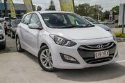 2014 Hyundai i30 GD2 MY14 Trophy White 6 Speed Sports Automatic Hatchback Aspley Brisbane North East Preview