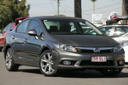 2012 Honda Civic 9th Gen Sport Grey 5 Speed Sports Automatic Sedan