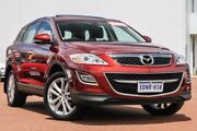 2010 Mazda CX-9 TB10A4 MY11 Luxury Red 6 Speed Sports Automatic Wagon East Rockingham Rockingham Area Preview