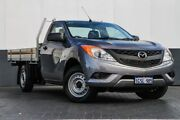 2013 Mazda BT-50 UP0YD1 XT 4x2 Grey 6 Speed Manual Cab Chassis Maddington Gosnells Area Preview