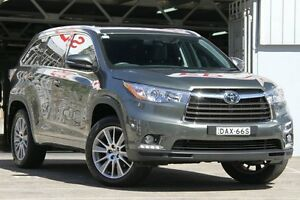2015 Toyota Kluger GSU50R Grande (4x2) Green 6 Speed Automatic Wagon Mosman Mosman Area Preview