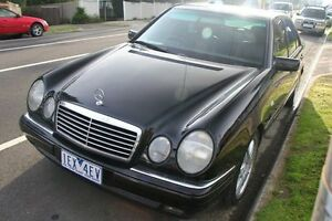 1998 Mercedes-Benz E430 W210 Avantgarde Black 5 Speed Automatic Sedan Briar Hill Banyule Area Preview