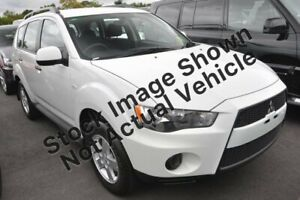 2010 Mitsubishi Outlander ZH MY11 LS 6 Speed Constant Variable Wagon Wickham Newcastle Area Preview