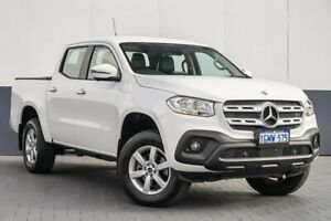 2017 Mercedes-Benz X-Class 470 X250d 4MATIC Pure White 7 Speed Sports Automatic Utility Maddington Gosnells Area Preview