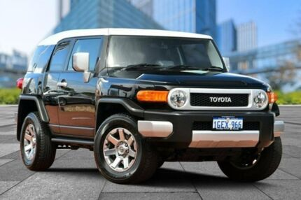 2016 Toyota FJ Cruiser GSJ15R MY14 Black 5 Speed Automatic Wagon Myaree Melville Area Preview