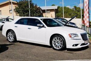 2012 Chrysler 300 LX MY12 C E-Shift Luxury White 8 Speed Sports Automatic Sedan Gympie Gympie Area Preview