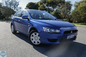 2008 Mitsubishi Lancer CJ ES Blue 6 Speed CVT Auto Sequential Sedan Hillman Rockingham Area Preview