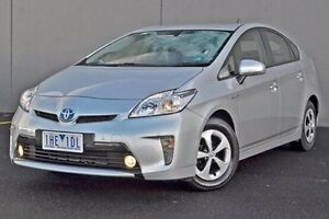 2014 Toyota Prius Silver Constant Variable Liftback Cranbourne Casey Area Preview