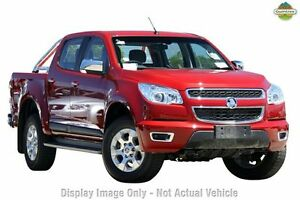 2014 Holden Colorado RG MY14 LTZ Crew Cab Red 6 Speed Manual Utility Upper Ferntree Gully Knox Area Preview