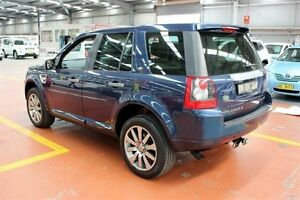 2009 Land Rover Freelander 2 LF 09MY Td4 HSE Blue 6 Speed Sports Automatic Wagon Maryville Newcastle Area Preview