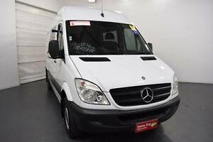 2012 Mercedes-Benz Sprinter NCV3 MY12 313CDI Low Roof MWB 7G-Tronic White Sports Automatic Van