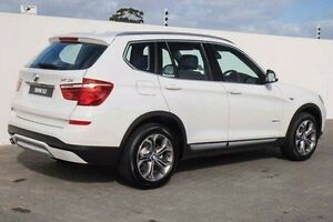 2017 BMW X3 F25 LCI xDrive20i Steptronic White 8 Speed Automatic Wagon Wangara Wanneroo Area Preview