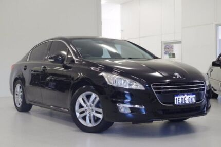2012 Peugeot 508 Active Black 6 Speed Sports Automatic Sedan Myaree Melville Area Preview