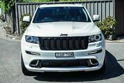 2012 Jeep Grand Cherokee WK MY2013 SRT-8 Alpine White 5 Speed Sports Automatic Wagon Greenacre Bankstown Area Preview