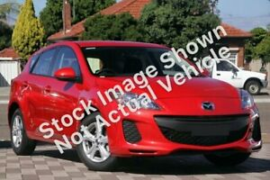 2013 Mazda 3 BL10F2 MY13 Neo Red 6 Speed Manual Hatchback Glendale Lake Macquarie Area Preview
