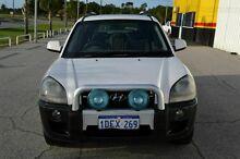 2005 Hyundai Tucson AWD Safety White 4 Speed Automatic Wagon East Rockingham Rockingham Area Preview